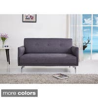 Emma Fabric Modern Loveseat