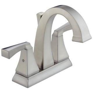 Delta Brilliance Stainless Dryden 2-handle Centerset Lavatory Faucet