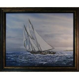 Jack Wemp 'Marine Scene' Framed Print Art
