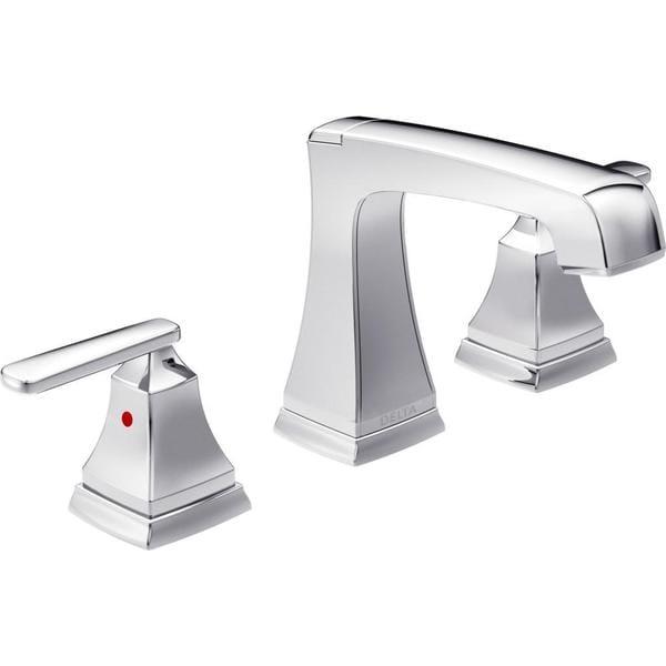 Ashlyn 2-handle EZ Anchor Widespread Lavatory Faucet