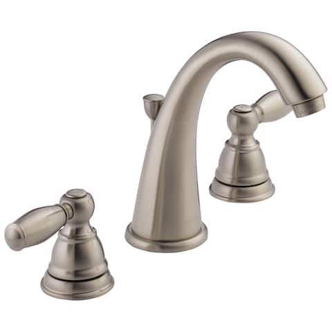 Delta Apex Two Handle Lavatory Faucet P299196LF-BN Brushed Nickel