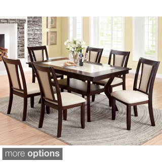Furniture of America Dionne Dark Cherry Dining Table