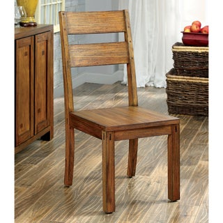 Furniture Of America Clarks Farmhouse Style Dining Cha
