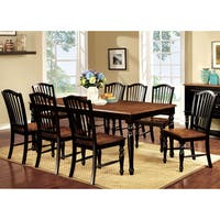 Copper Grove Narcisse Two-tone 9-piece Country Style Dining Set