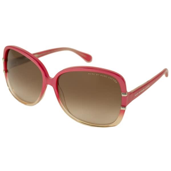 f8696a34c3 Shop Marc by Marc Jacobs Women s MMJ428S Rectangular Sunglasses ...