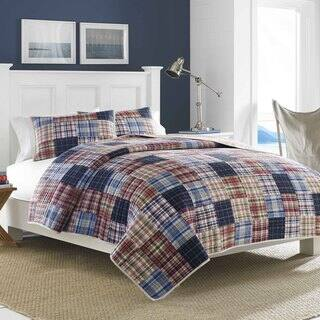 Nautica Blaine Patchwork Quilt (Shams Sold Separately)|https://ak1.ostkcdn.com/images/products/9786985/P16955925.jpg?impolicy=medium