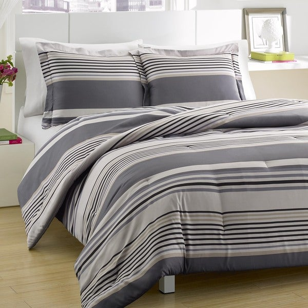Perry Elllis Rowan 3-piece Comforter Set