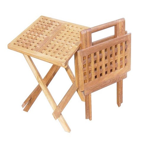 Handmade D-Art Square Teak Picnic Table (Indonesia)