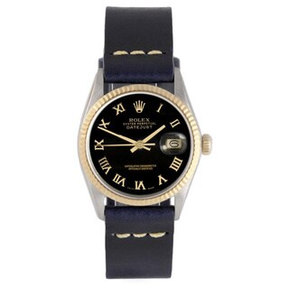 Pre-Owned Rolex Men's Two-tone Black Roman Dial Fluted Bezel Datejust Watch|https://ak1.ostkcdn.com/images/products/9787062/P16955999.jpg?_ostk_perf_=percv&impolicy=medium