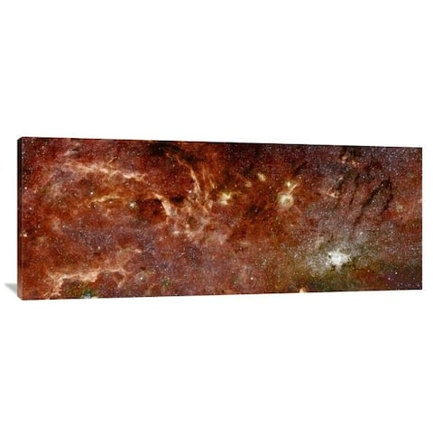 Global Gallery NASA 'HST-Spitzer Composite of Galactic Center' Stretched Canvas Artwork