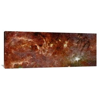 Big Canvas Co. NASA 'HST-Spitzer Composite of Galactic Center' Stretched Canvas Artwork