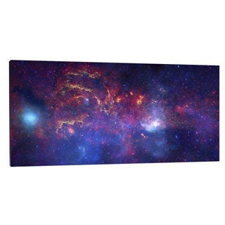 Big Canvas Co. NASA 'Great Observatories Examine the Galactic Center Region' Stretched Canvas Artwork