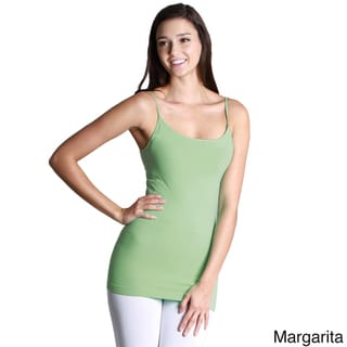 Nikibiki Seamless Signature Long Camisole Top with Various Colors