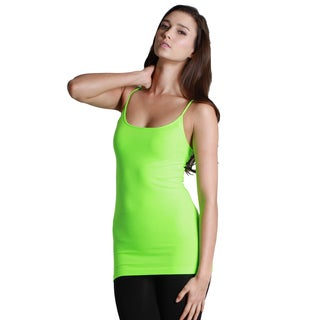 Nikibiki Seamless Signature Long Camisole Top with Various Colors (3 options available)