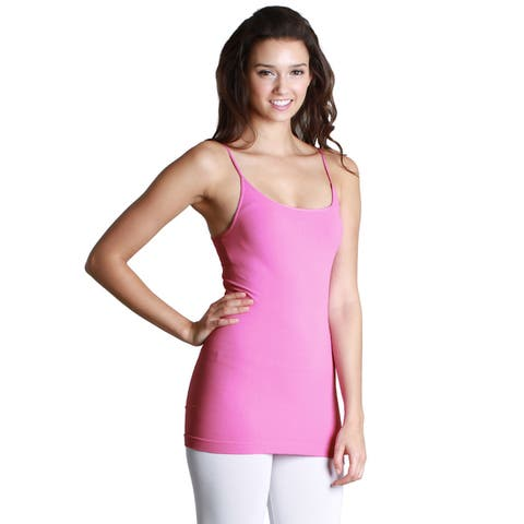 Nikibiki Seamless Signature Long Camisole Top