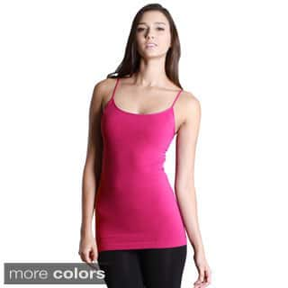 Nikibiki Seamless Signature Long Camisole Top|https://ak1.ostkcdn.com/images/products/9787463/P16956353.jpg?impolicy=medium