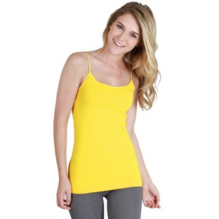 Nikibiki Seamless Signature Long Camisole Top with Multiple Colors