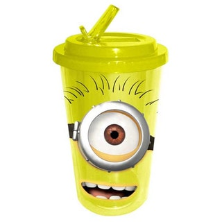 Despicable Me Minion Flip-Straw Arcylic Travel Cup