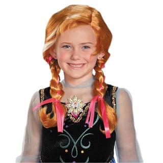 Child's Disney Princess Frozen Anna Wig