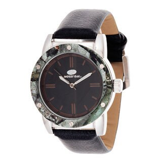 Mossy Oak Men's Analog All Terrain Field Officially Infinity Black Frontier Watch