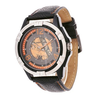 Mossy Oak Men's Analog All Terrain Field Officially Frontier Orange Watch