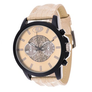 Mossy Oak Men's Analog All Terrain Field Officially Infinity Beige Frontier Watch