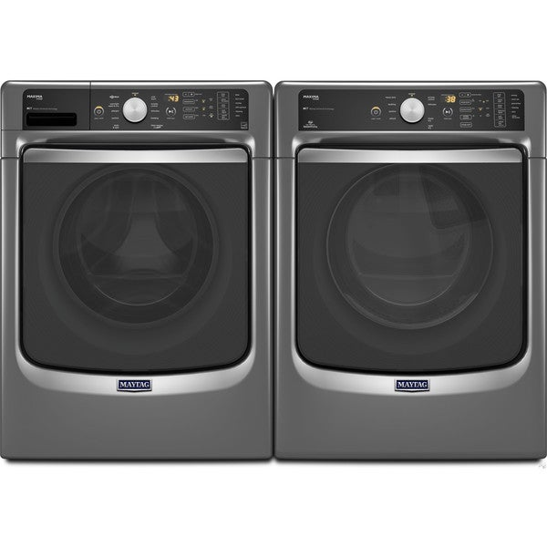 Shop Maytag Maxima Front Load Steam Washer And Dryer Set