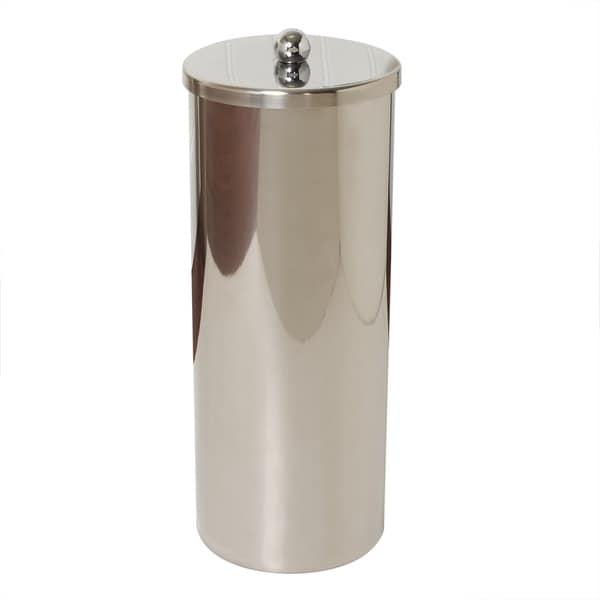 Stainless Steel Toilet Paper Holder Canister Free