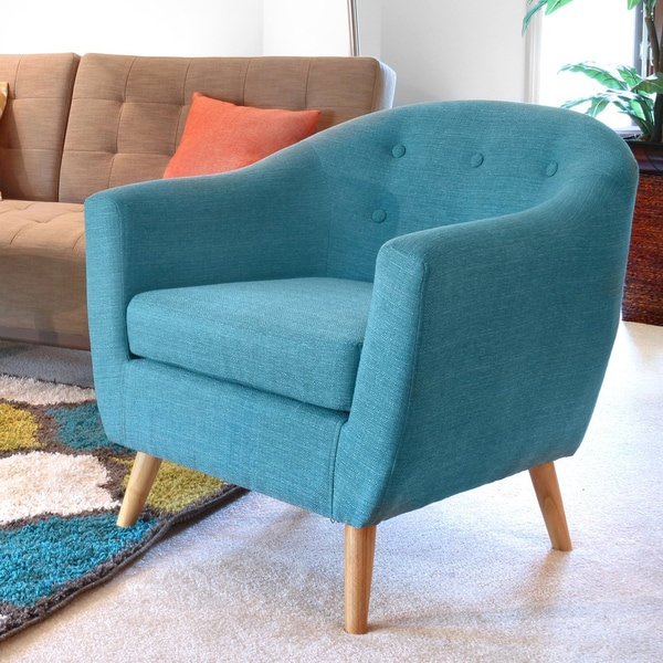rockwell mid century accent chair free shipping today overstock