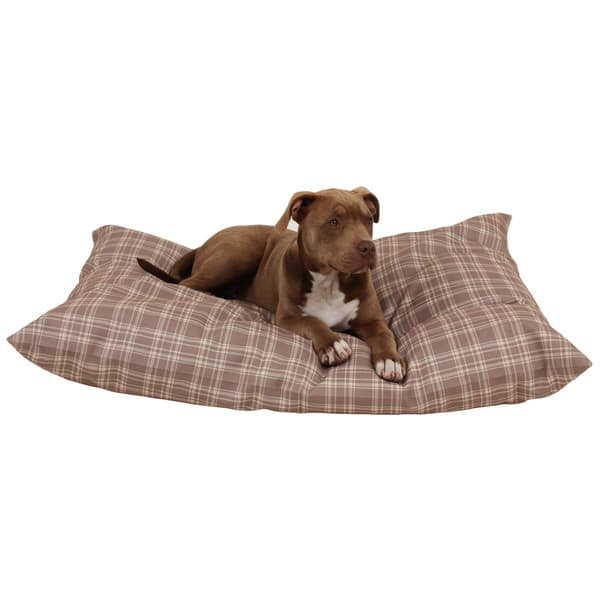 Carolina Pet Co Shebang Plaid Indoor Outdoor Dog Bed Overstock 9787890