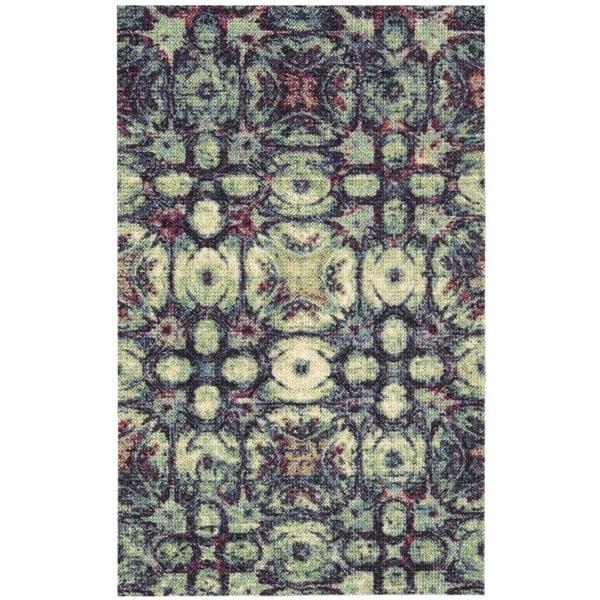 Nourison Vista Multicolor Polyester Rug (2'6 x 4') - multi-color - 2'6 x 4'