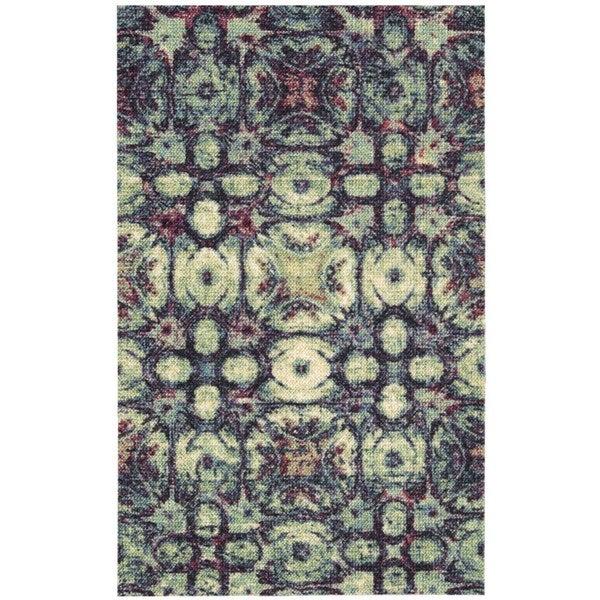 Nourison Vista Multicolor Polyester Rug - 2'6 x 4'