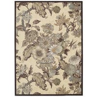 Waverly Artisanal Delight Graceful Garden Birch Area Rug by Nourison (8' x 10')