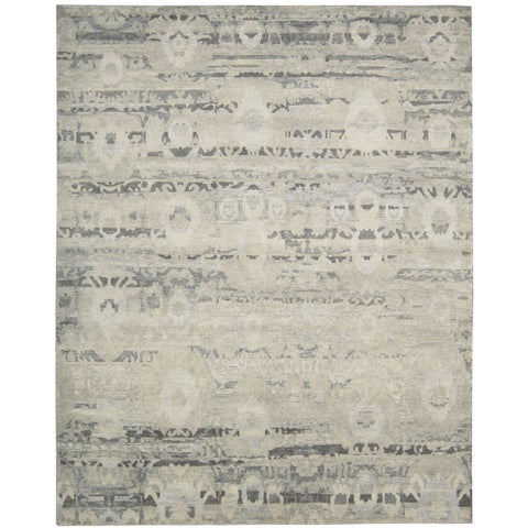 """Nourison Dune Mineral Wool Area Rug - 7'9"""" x 9'9"""""""