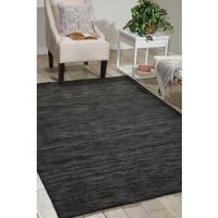 Waverly Grand Suite Charcoal Area Rug by Nourison - 4' x 6'