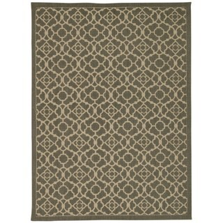 Waverly Color Motion Lovely Lattice Stone Area Rug by Nourison (8' x 10')