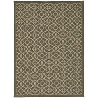 Waverly Color Motion Lovely Lattice Stone Area Rug by Nourison - 8' x 10'