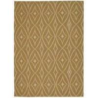 Waverly Color Motion Centro Gold Area Rug by Nourison (8' x 10')