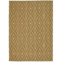 Waverly Color Motion Centro Gold Area Rug by Nourison - 8' x 10'