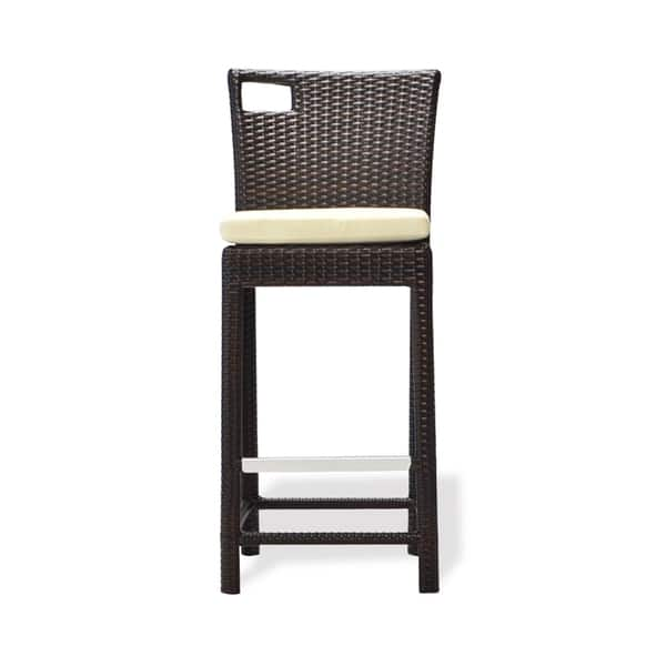Astonishing Shop Bienal 30 Inch Sydney Outdoor Wicker Bar Stool With Unemploymentrelief Wooden Chair Designs For Living Room Unemploymentrelieforg