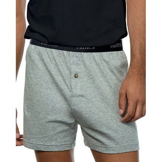 Hanes Classics Men's ComfortSoft Tagless Knit Boxers (Pack of 5)