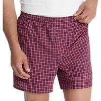 Hanes Classics Men's Tagless Tartan Boxers (Pack of 5)