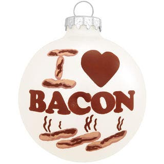 I Love Bacon' Christmas Tree Ornament|https://ak1.ostkcdn.com/images/products/9788101/P16956712.jpg?impolicy=medium