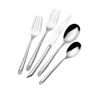Towle Living Satin Wave 20-piece Flatware Set