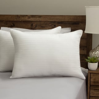 Grandeur Collection Cotton Down Alternative Density Pillow (Set of 2) - White