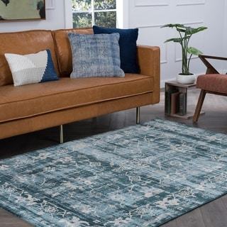 Alise Rugs Essence Transitional Oriental Area Rug - 7'6 x 10'3