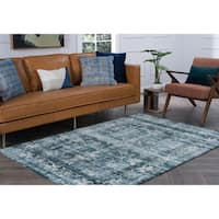 Alise Essence Blue Area Rug - 5'3'' x 7'3''