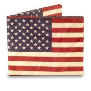 USA American Flag Tyvek Mighty Wallet
