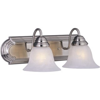 Maxim Nickel Essentials 2-light 801x Bath Vanity Light