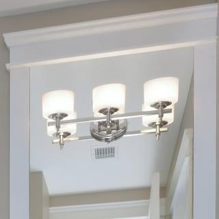 Maxim Nickel 3-light Lola Bath Vanity Light
